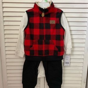 Carters 18 month of Reindeer Racing Crew outfit